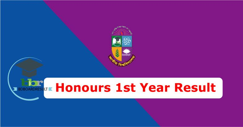 NU Honours 1st Year Exam Result