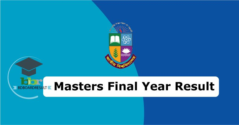 Masters Final Result